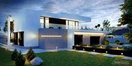 moderne Huizen door HomeKONCEPT | Projekty Domów Nowoczesnych