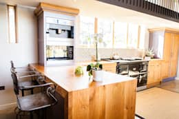 Cocinas de estilo rústico por Love Wood Kitchens