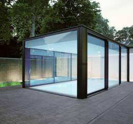 Albercas de estilo moderno por bv Mathieu Bruls architect