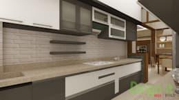 PROJECT-1 ( MR. Sunil , HSR LAYOUT ): asian Kitchen by Dsign-it