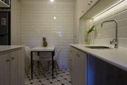 Projekty,  Kuchnia zaprojektowane przez KRAUSE CHAVARRI