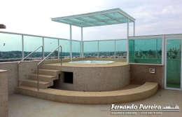 Projekty, nowoczesne Spa zaprojektowane przez Fernando Parreira Arquitetura