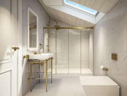 yücel partners – M&E TEKİNTAŞ HOME: klasik tarz tarz Banyo