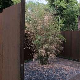 Jardines de estilo moderno por bv Mathieu Bruls architect