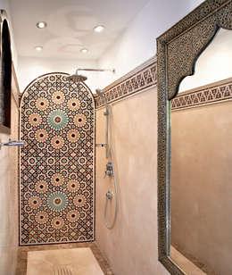 حمام تنفيذ Decoración Andalusí