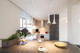 Cuisine de style de style Moderne par Ludwinowska Studio Architektury