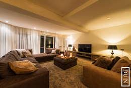 Salas / recibidores de estilo moderno por DUIN INTERIOR