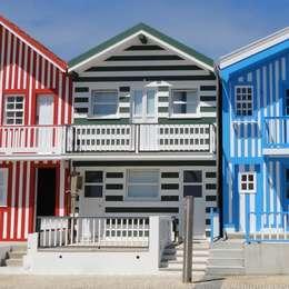 Casas de estilo ecléctico por GAAPE - ARQUITECTURA, PLANEAMENTO E ENGENHARIA, LDA