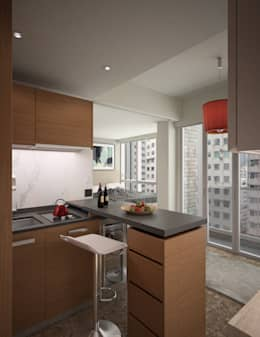 South Lane | Kennedy Town | Hong Kong: modern Kitchen by Nelson W Design