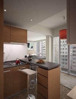 modern Kitchen by Nelson W Design