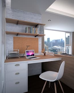 Discovery Primea | Manila: modern Bedroom by Nelson W Design