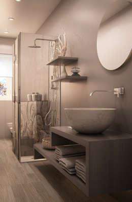 Baños de estilo moderno por MyArchitect
