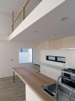 modern Kitchen by 荘司建築設計室