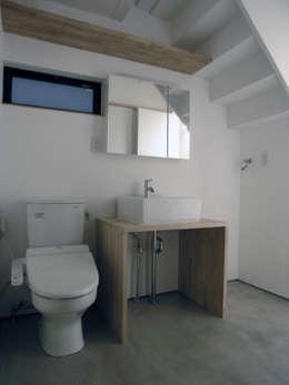 modern Bathroom by 荘司建築設計室