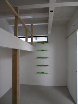 modern Bedroom by 荘司建築設計室