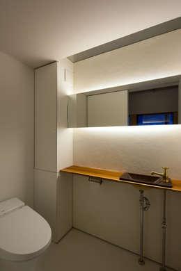 一級建築士事務所 Atelier Casa의  화장실