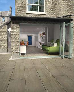 พื้นและกำแพง by The London Tile Co.