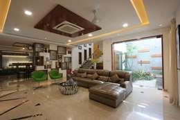 Living room: modern Living room by Ansari Architects