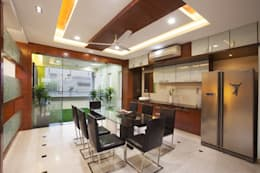 Dining room: modern Dining room by Ansari Architects