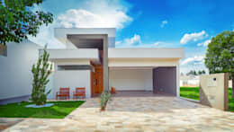 Integração Total: Casas modernas por ADRIANA MELLO ARQUITETURA