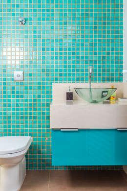 ADRIANA MELLO ARQUITETURA의  화장실