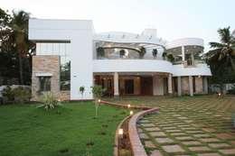 Casas de estilo moderno por Ansari Architects