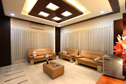 modern Living room by Ansari Architects