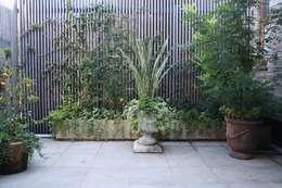Jardin de style de style Moderne par 庭のクニフジ