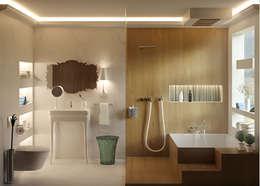 Baños de estilo moderno por 3Deko