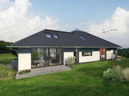 Projekty, nowoczesne Domy zaprojektowane przez K-MÄLEON Haus GmbH