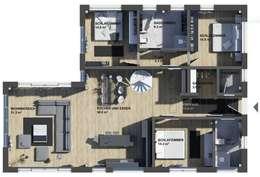 Projekty,   zaprojektowane przez K-MÄLEON Haus GmbH