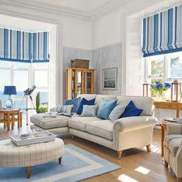 mediterranean Living room by Laura Ashley Decoración
