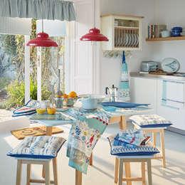 Cocinas de estilo mediterraneo por Laura Ashley Decoración