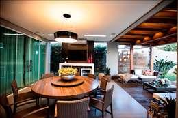 Comedores de estilo  por Arquitetura Ao Cubo LTDA