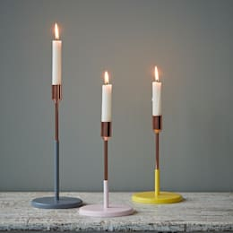 Candlesticks by Jansen:  Household by rigby & mac