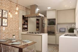 mediterrane Küche von Fernanda Moreira - DESIGN DE INTERIORES