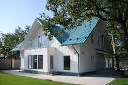 房子 by Студия архитектуры и дизайна Вояджи Дарьи