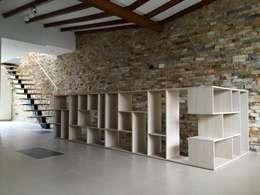 Salas / recibidores de estilo moderno por ALSE Taller de Arquitectura y Diseño