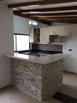 modern Kitchen by ALSE Taller de Arquitectura y Diseño