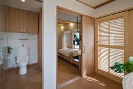 Projekty,  Sypialnia zaprojektowane przez ATELIER N