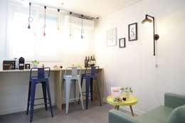 Projekty,  Kuchnia zaprojektowane przez OUA 오유에이