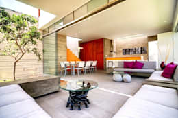 Casa Seta: Salas de estilo moderno por Martin Dulanto