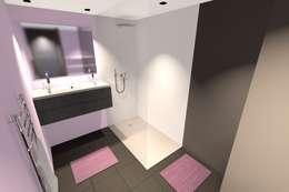 minimalistic Bathroom by Concepteur Designer d'Espace - Cyril DARD