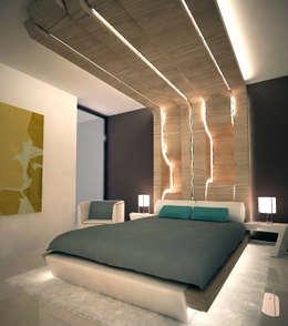 Amboage: Dormitorios de estilo moderno de Rochene Floors