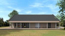Schuurwoning Ommen: minimalistische Huizen door Koezen Architecten