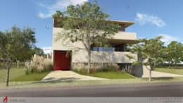 modern Houses by STUDIO LUIZ VENEZIANO