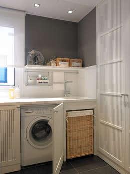 Cuarto de lavado 6 ideas para instalarlo en la cocina for Lavaderos de cocina
