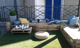 Projekty,  Ogród zaprojektowane przez amour de palette création