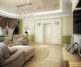 غرفة المعيشة تنفيذ Инна Михайская