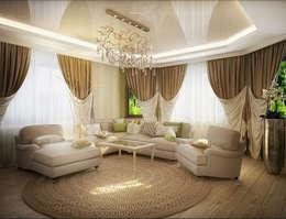 classic Living room by Инна Михайская